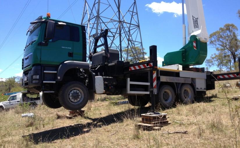 ewp truck 46 metre bronto